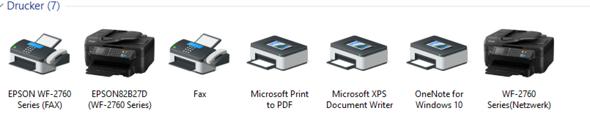 Welche Drucker kann ich entfernen?