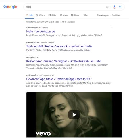Meine Google-Suche wird manipuliert?