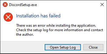 Discord Instalation geht nicht?