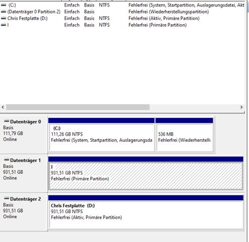 Neue M.2 SSD wird  nicht im Explorer angezeigt?