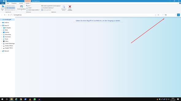 Windows 10 immer erst Enter drücken um Suche zu starten - Warum?