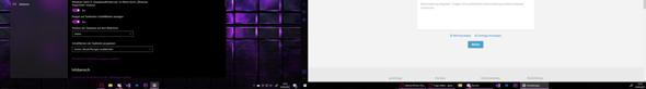 Taskbar ändert sich nach ändern von einstellung am 2. Bildschirm nicht (Windows 10)?