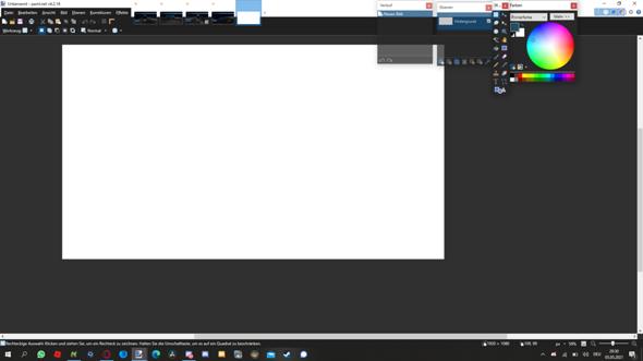 Kann man diese Nervigen Fenster bei Paint.net in ein Fenster machen?