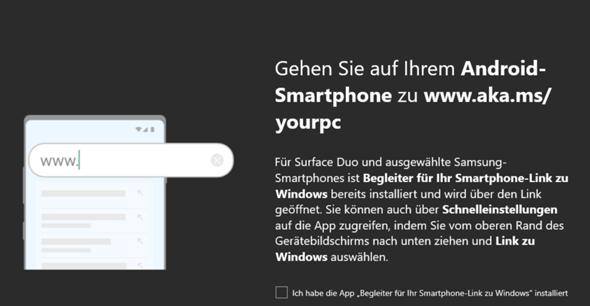 Windows 10 iPhone koppeln?