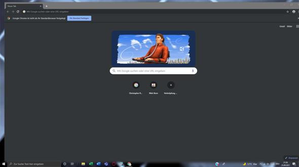 Google Chrome verschwindet nicht von meinem PC (Windows 10)?