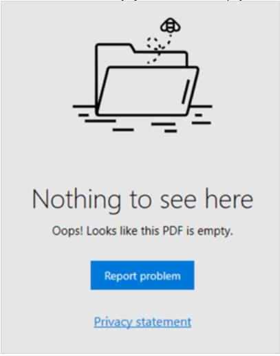 Offizielle Ankündigung von Microsoft Edge: Häufige Probleme mit der PDF-Verarbeitung in...