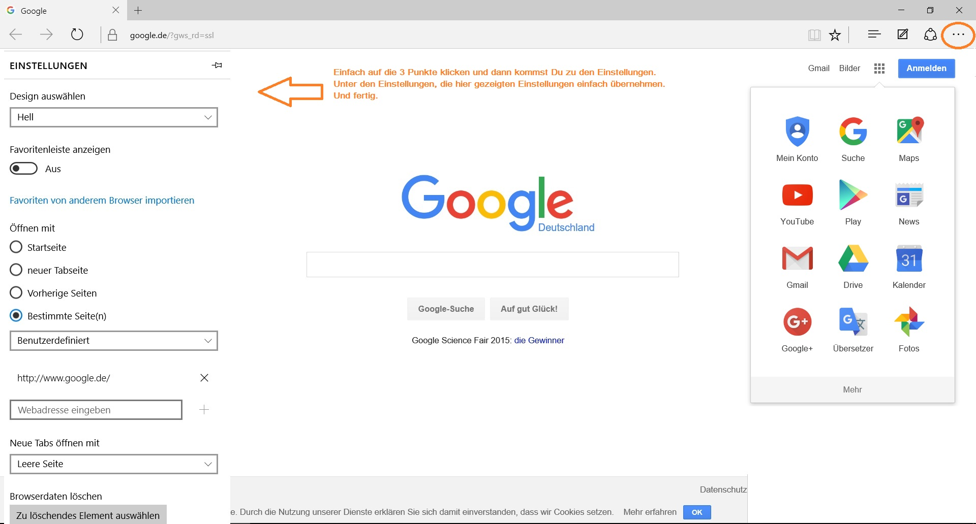 Mit IE11 funktioniert die Google Toolbar, warum nicht auch bei Edge?