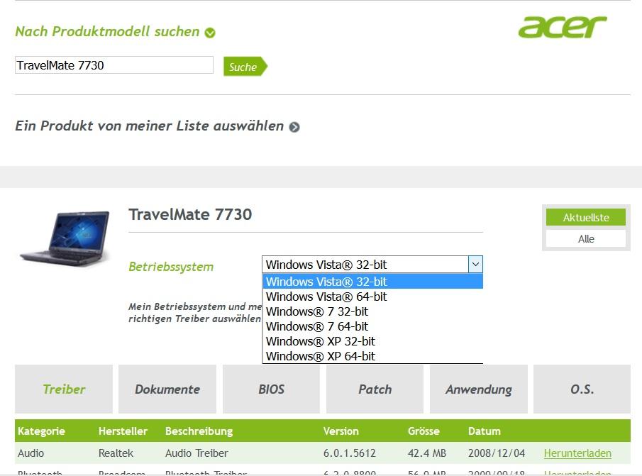 Nach Installation von W10 wurde Netzwerkkarte Intel(R) WiFi Link 5100 AGN nicht unterstützt