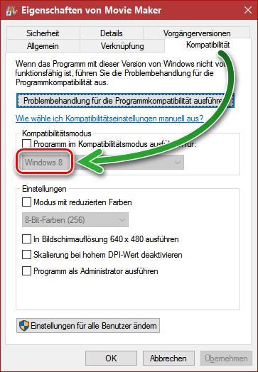 Movie Maker in Windows 10