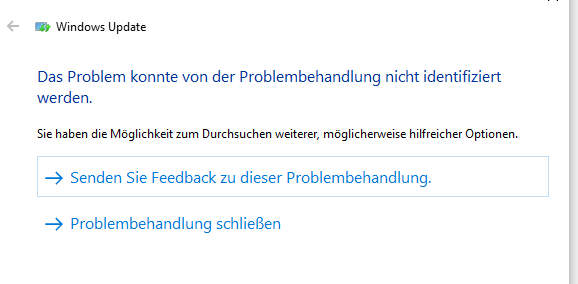 Problem mit Windows-Update