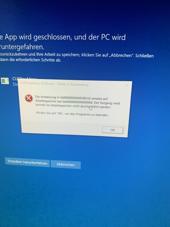 BSOD, WHEA uncorrectable error in Windows 10