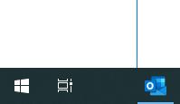 Edge-Symbol von Taskleiste verschwunden