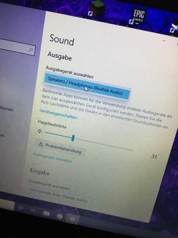 Kopfhörer funktionieren nicht am PC was kann ich tun?(bitte lest nicht nur den Titel)?