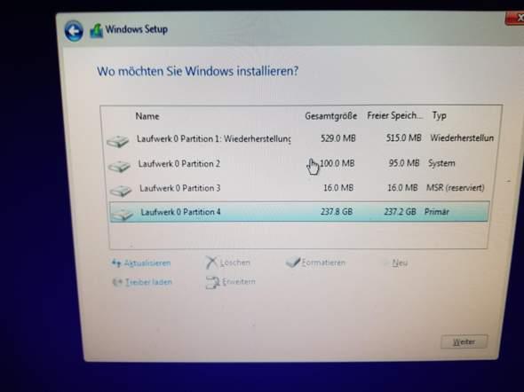 Windows 10 Installation klappt nicht, was tun?
