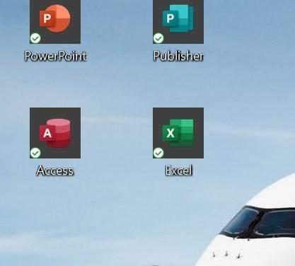 Warum habe ich einen schwarzen Rand um Office App?