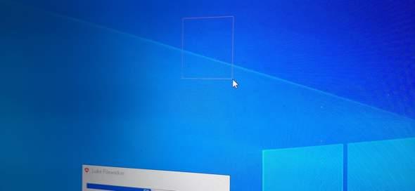 Windows 10 Markierung komisch?