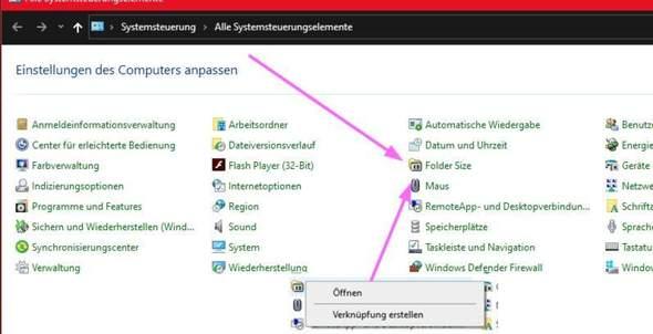 Windows 10, Systemsteuerung als Admin öffnen?
