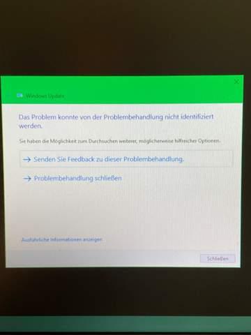 Windows Update schlägt permanent fehl?