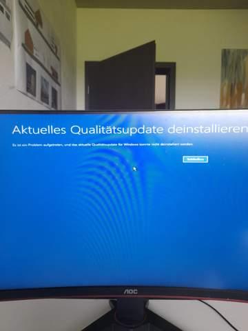 Pc startet in Erweiterte Optionen nach Windows Update?