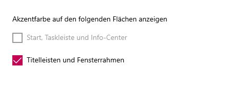 Windows 10 Taskleiste Farbe ändern geht nicht mehr?