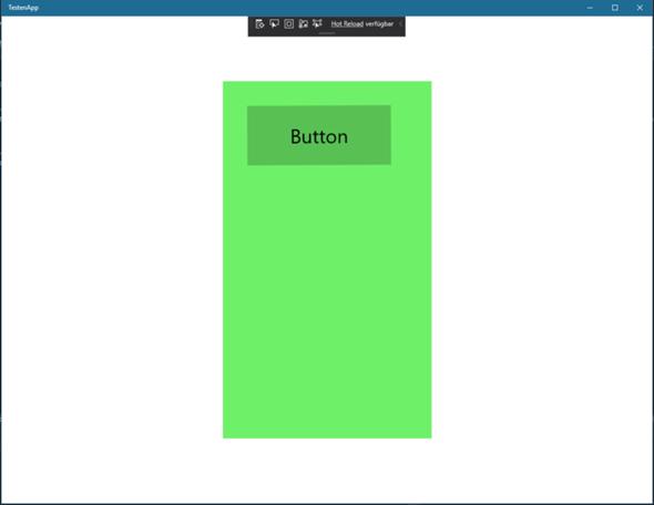 Was muss ich machen damit der Universelle Windows App in andere Fenster größe Starten kann?