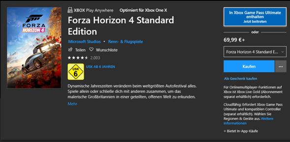 Auf der Xbox gekauftes Spiel auf dem PC spielen?