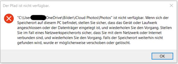 Wie können ungültige Ordner im Windows-Explorer gelöscht werden?