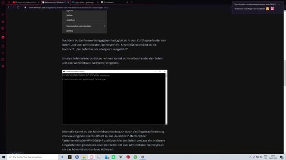 Windows 10 adminrechte durch virus verloren was nun?