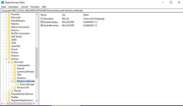 Windows sicherheit deaktiviert von Virus, wie kann ich es wieder aktivieren?