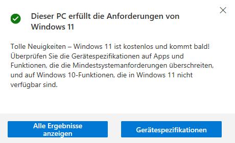 Wie kann ich nicht auf Win 11 Updaten?