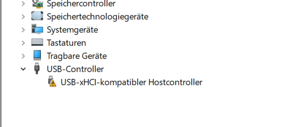 USB Controller funktioniert nicht mehr, Anschlüsse reagieren nicht