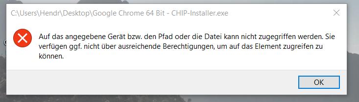 Apps NICHT von CHIP installieren !