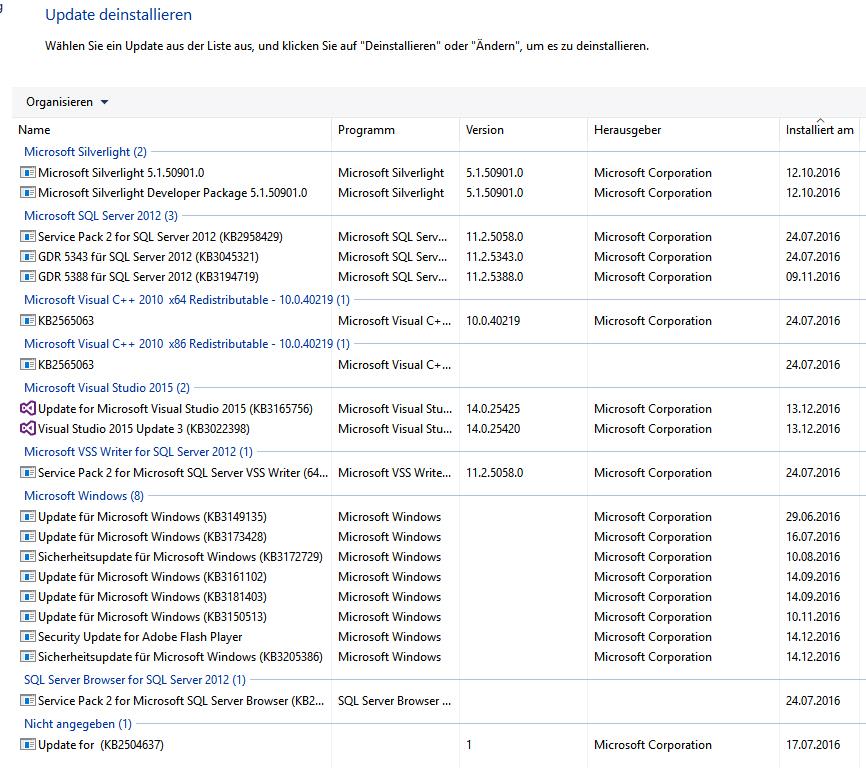 Windows 10 Anniversary Update NICHT INSTALLIERBAR