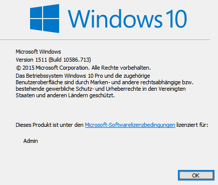 Windows 10 Anniversary Update NICHT INSTALLIERBAR