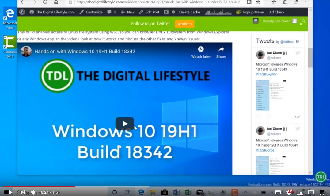 Windows Build 18841 (LH20) fertig zum Download