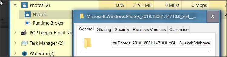 """Warum läuft der Windows """"Foto-Service"""", wenn ich nicht am Computer bin?"""