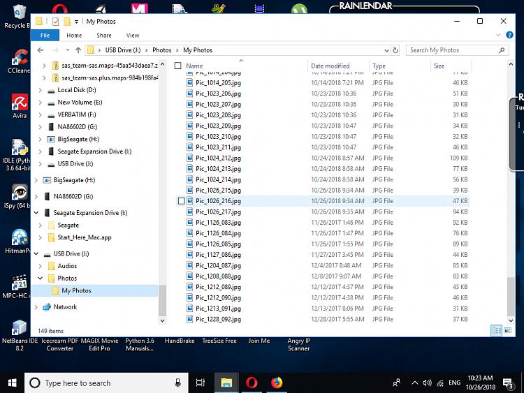 Win10 Kopieren von Dateien mit falschem Datum.  Warum? Wie kann man das beheben?