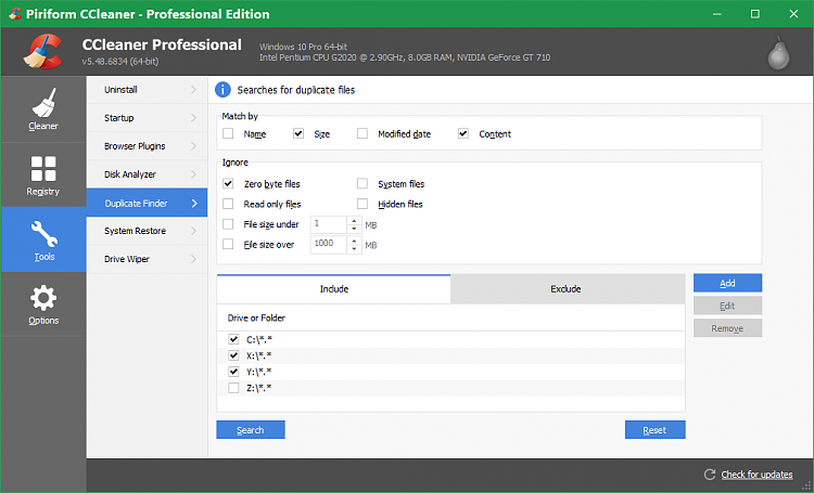 Dateien mit unterschiedlichen Dateinamen aber gleichem Inhalt finden
