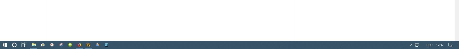 Taskleiste - Systray: Entweder Lautsprecher-Sybol oder Netzwerk-Symbol zu sehen, aber nie...