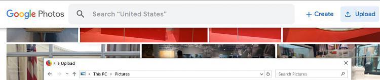 Organisieren und Hochladen von Fotos auf andere Websites.