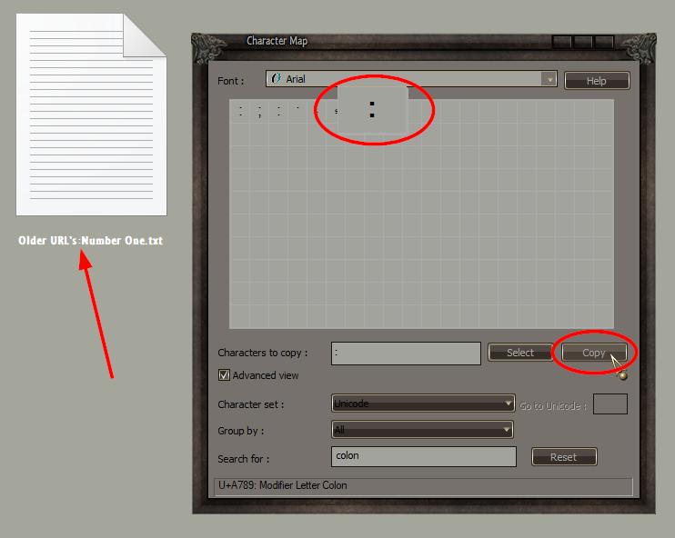 Anpassen der Regeln für die Dateinamensvergabe.
