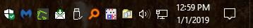 Blinkende Boxen & Alarmton auf dem Desktop