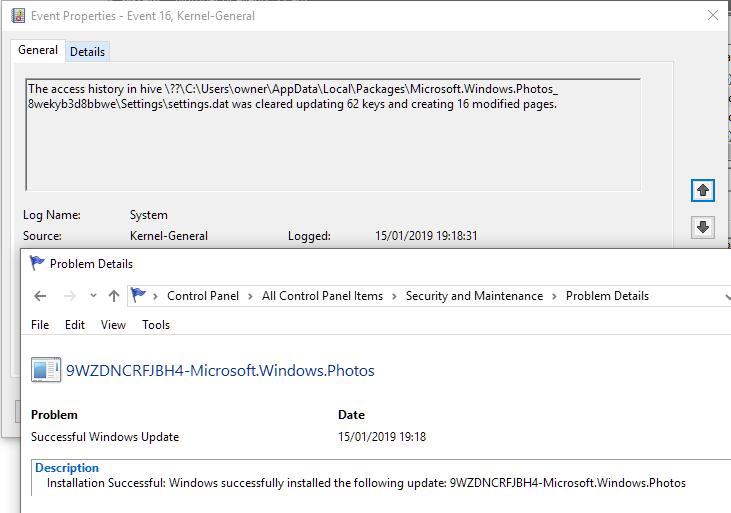 Wie deaktiviere ich die Funktionsaufgabe, die Registrierungsdateien bereinigt und aktualisiert?