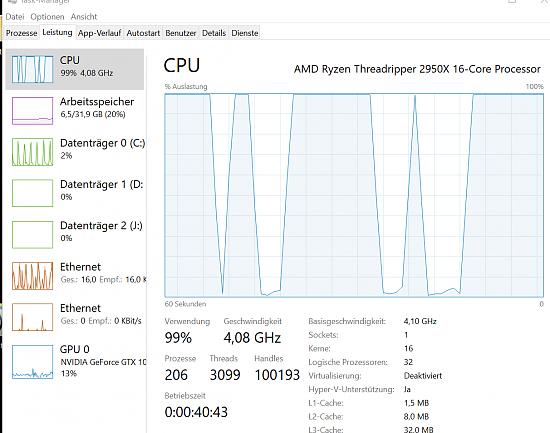 Win 1809 update und Runtime Broker CPU Last bei 99%