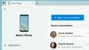 Your Phone: Microsoft-App stellt nun auch Akkustand und Wallpaper dar