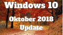 Noch ein weiteres kumulatives Update Windows 10 1809 erschienen