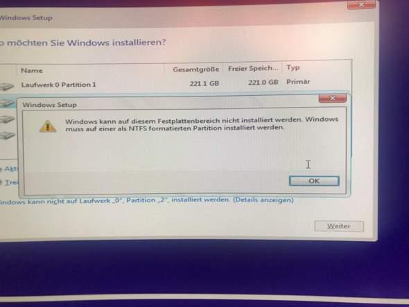 wie schaffe ich es meine festplatte für windows kompatibel zu machen?