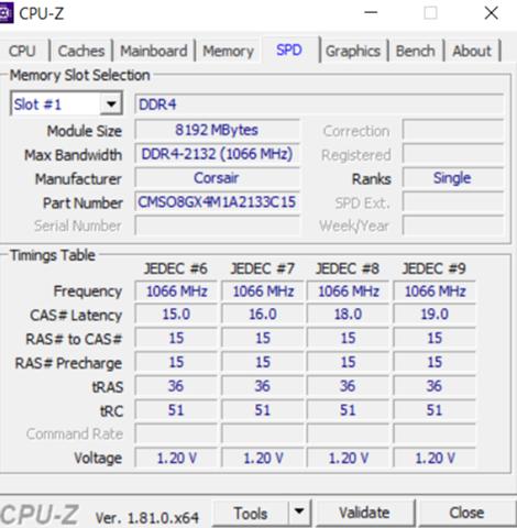 Asus Zenbook UX-510UW erkennt immer nur einen RAM?