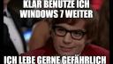 Windows 7 ist in großen Firmen nach wie vor extrem verbreitet