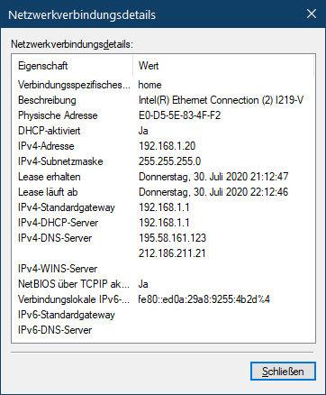 Kein Internetzugriff trotz Verbindung